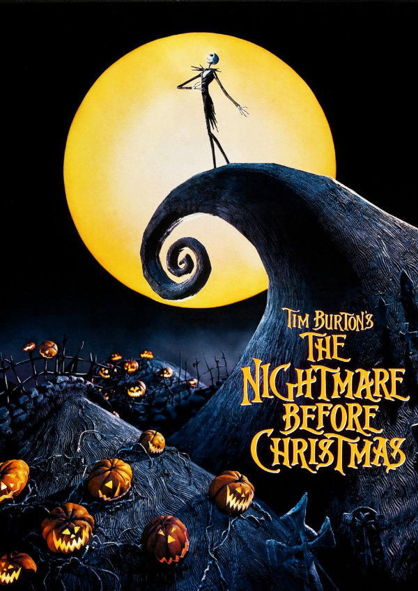 'The Nightmare Before Christmas' movie poster