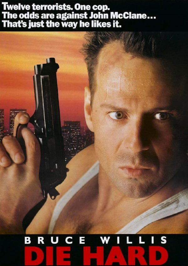 'Die Hard' movie poster