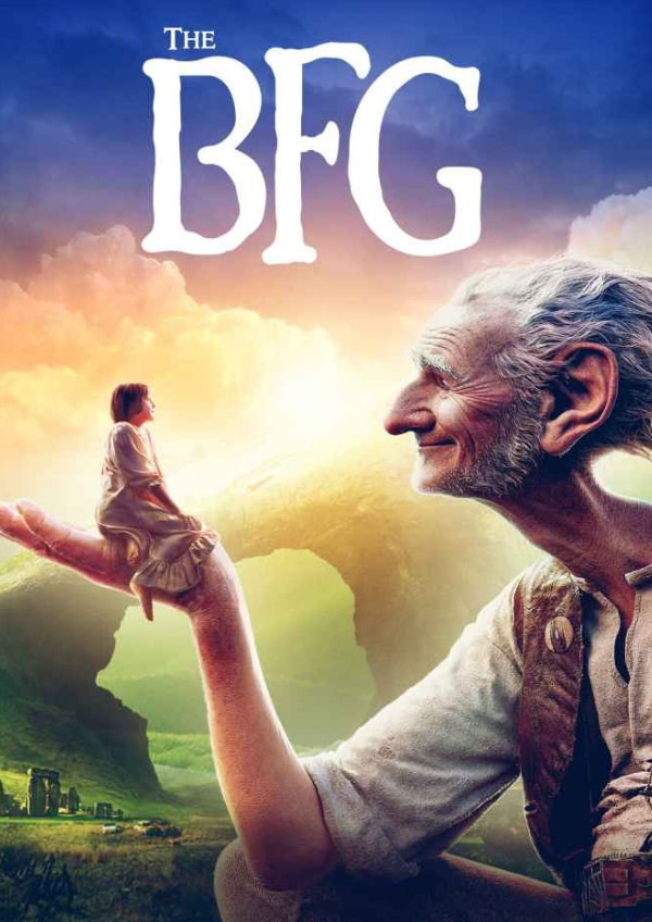 'The BFG' movie poster