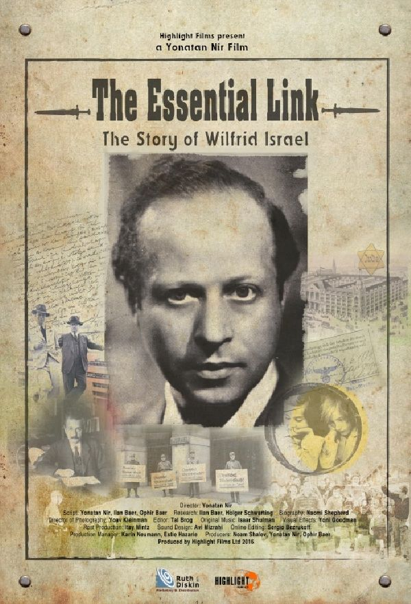 'The Essential Link: The Story Of Wilfrid Israel' movie poster