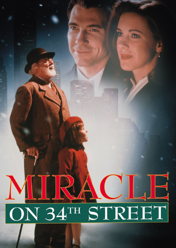 'Miracle On 34th Street (1994)' movie poster