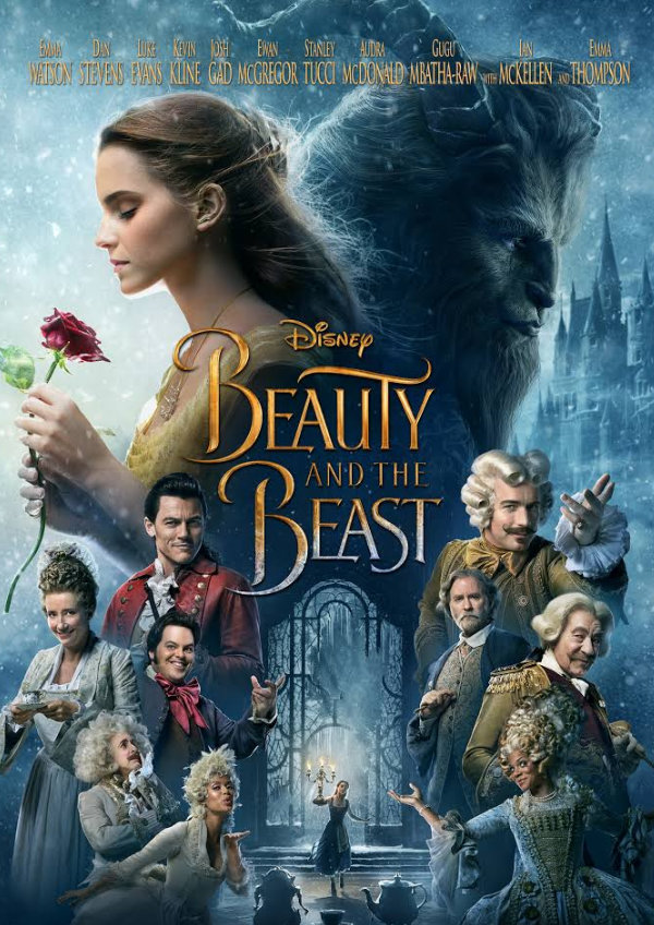 'Beauty and the Beast' movie poster