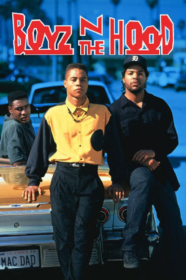 'Boyz n the Hood' movie poster