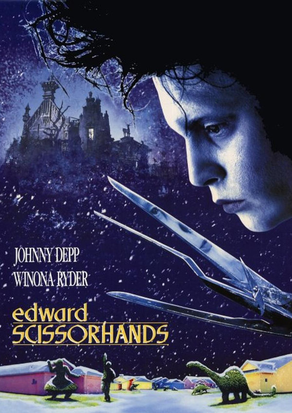 'Edward Scissorhands' movie poster