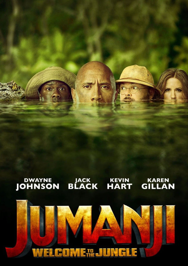 'Jumanji: Welcome To The Jungle' movie poster