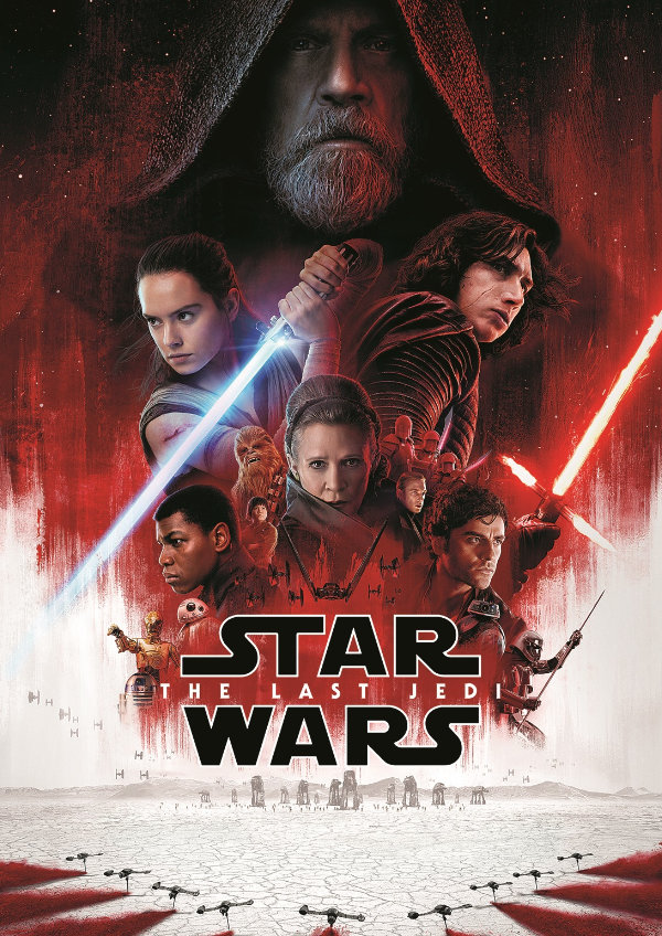 'Star Wars: The Last Jedi' movie poster