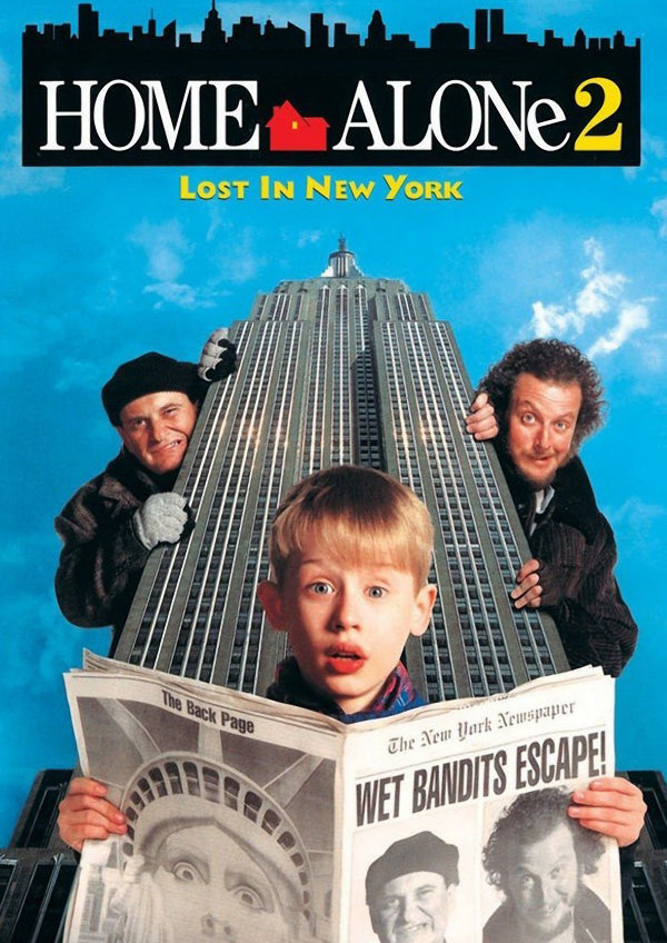 'Home Alone 2: Lost In New York' movie poster