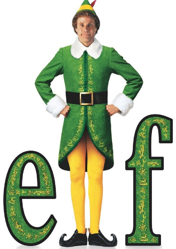 'Elf' movie poster