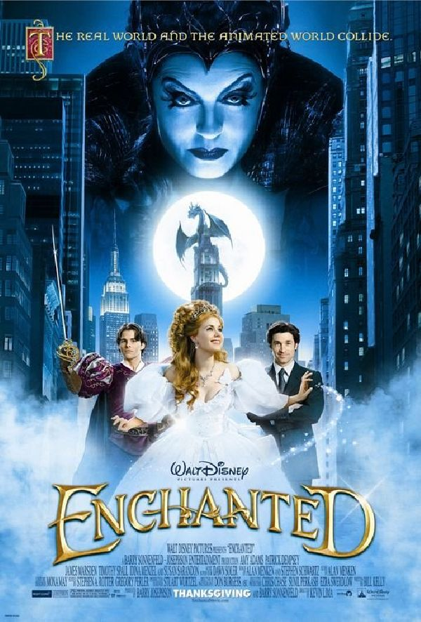 'Enchanted' movie poster