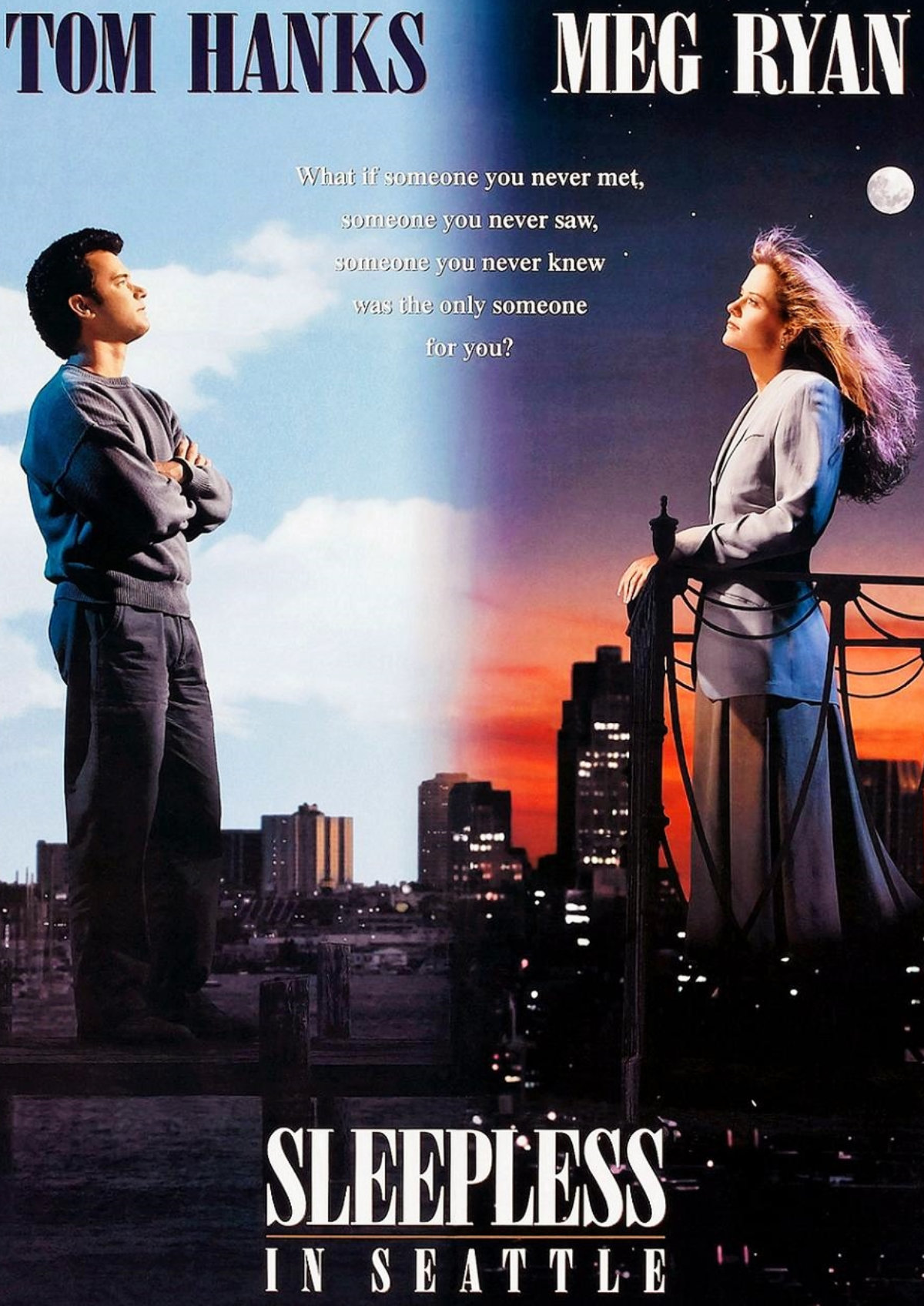 'Sleepless In Seattle' movie poster