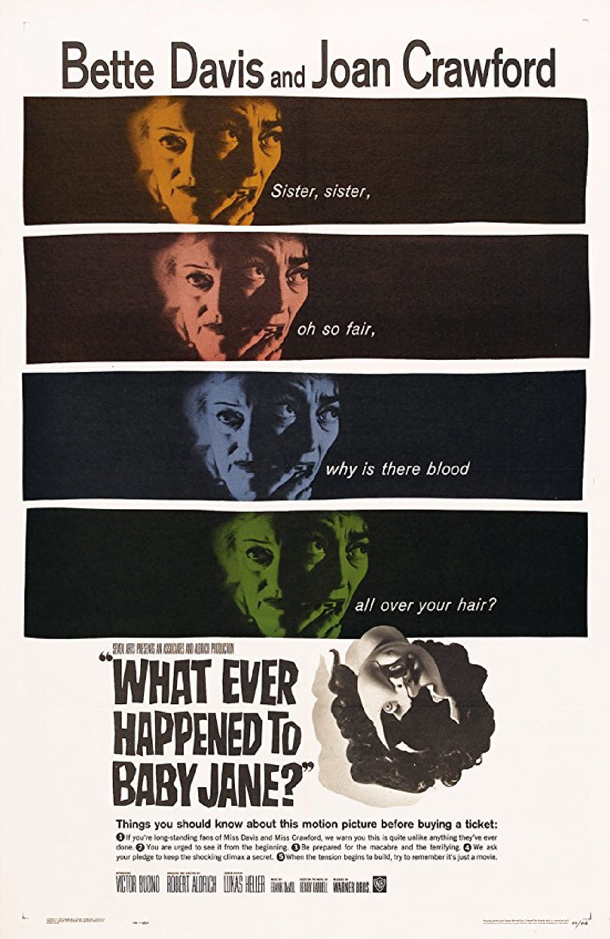 'What Ever Happened To Baby Jane?' movie poster