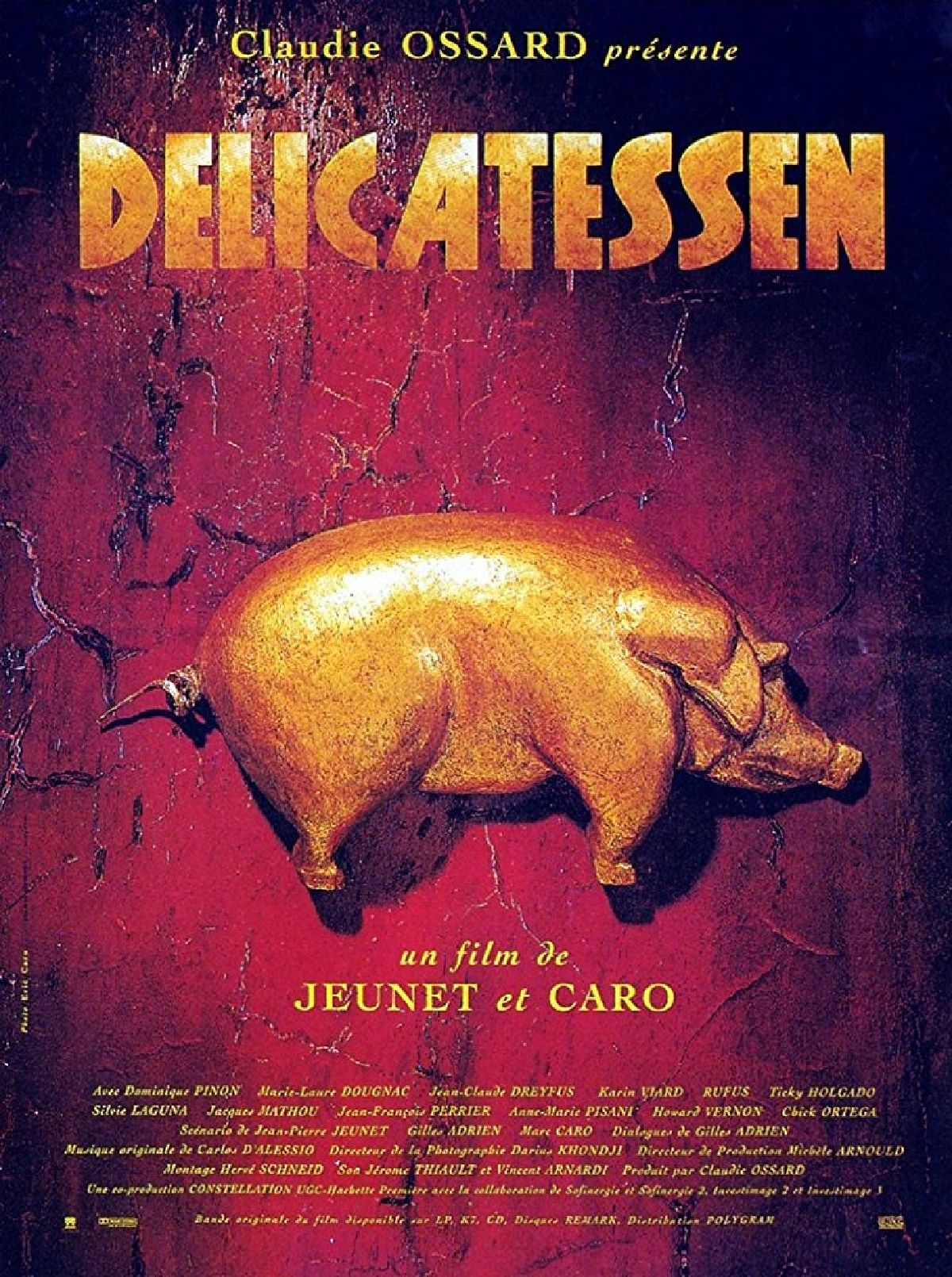 'Delicatessen' movie poster