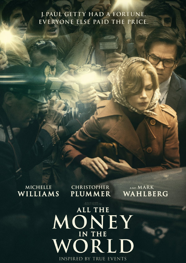 'All The Money In The World' movie poster