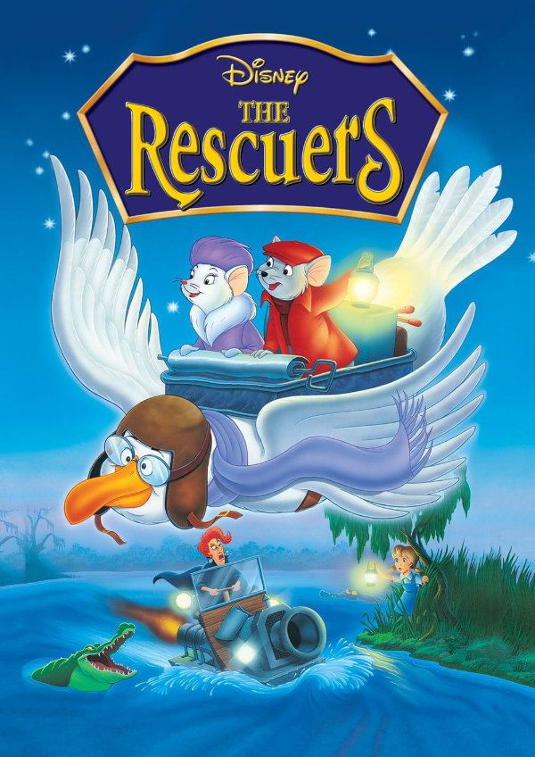 'The Rescuers' movie poster