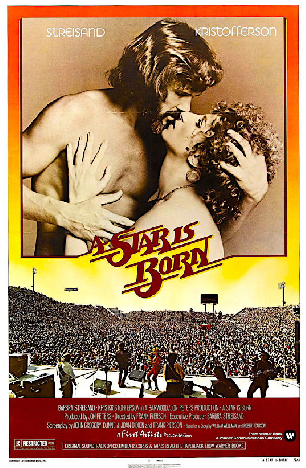 'A Star Is Born (1976)' movie poster