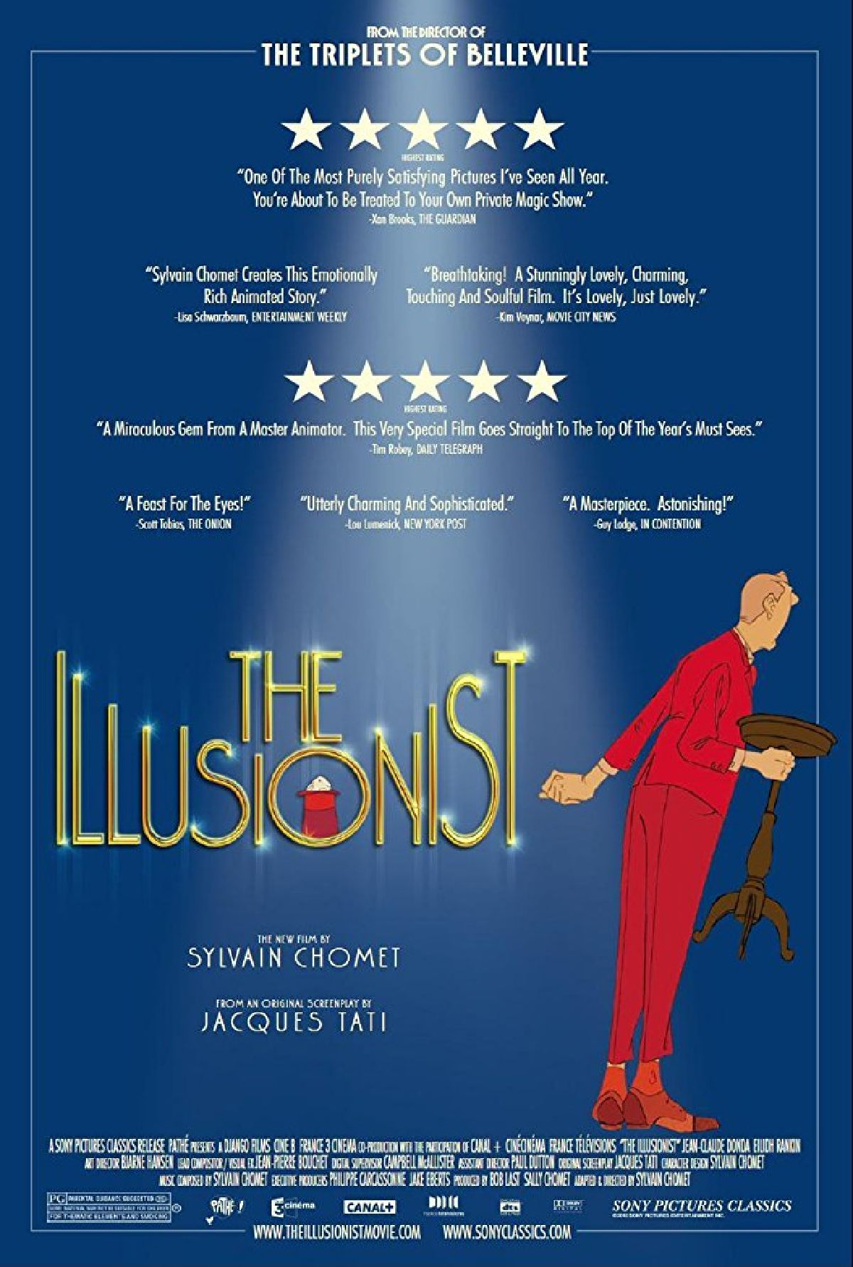 'The Illusionist' movie poster