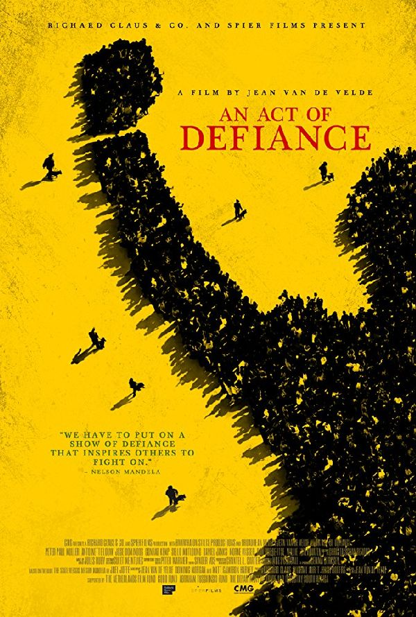 'An Act Of Defiance' movie poster