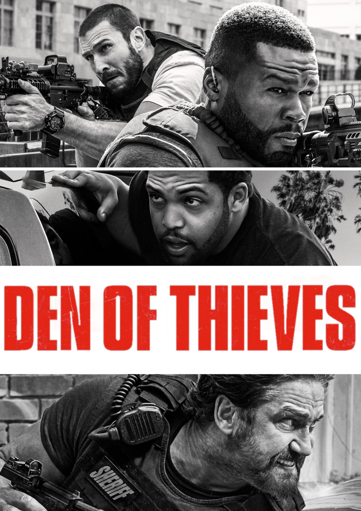 'Den Of Thieves' movie poster
