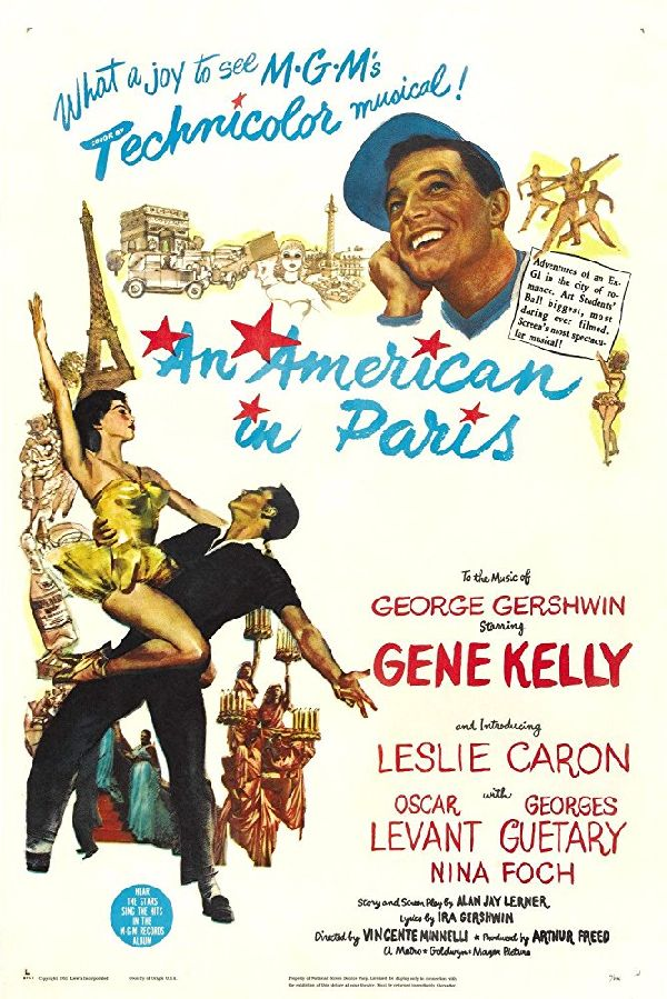 'An American In Paris' movie poster