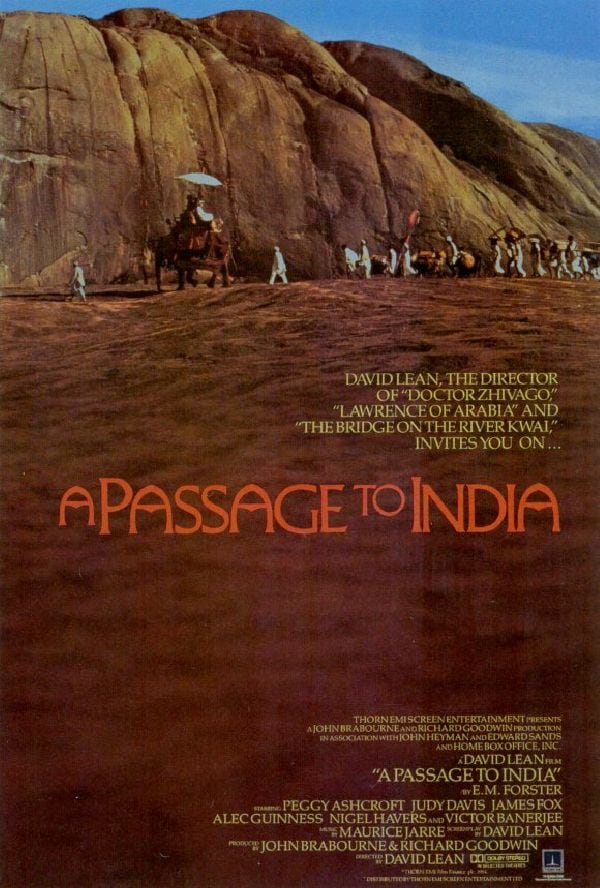 'A Passage To India' movie poster