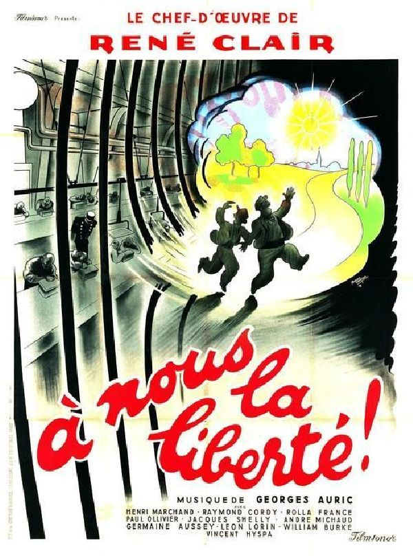'A Nous La Liberte (Freedom For Us)' movie poster