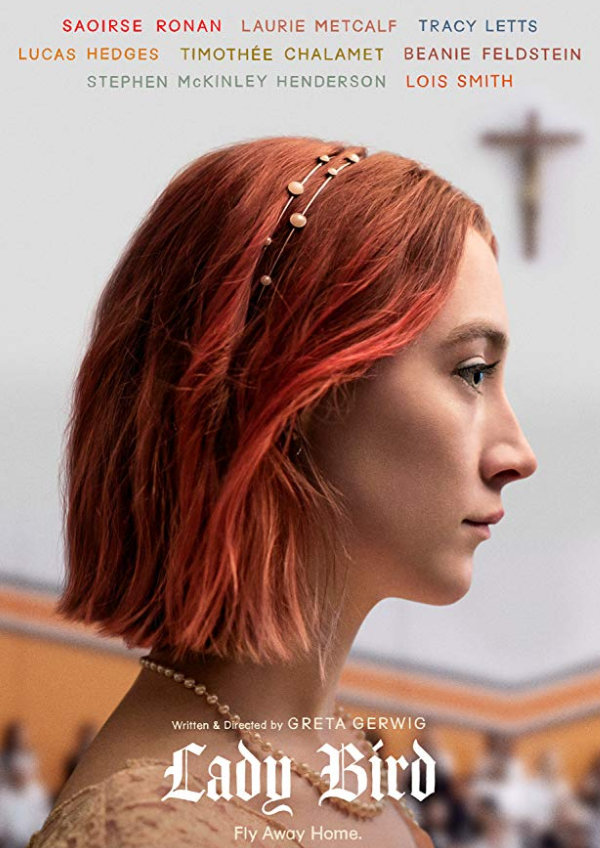 'Lady Bird' movie poster