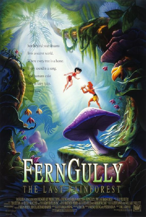 'FernGully: The Last Rainforest' movie poster