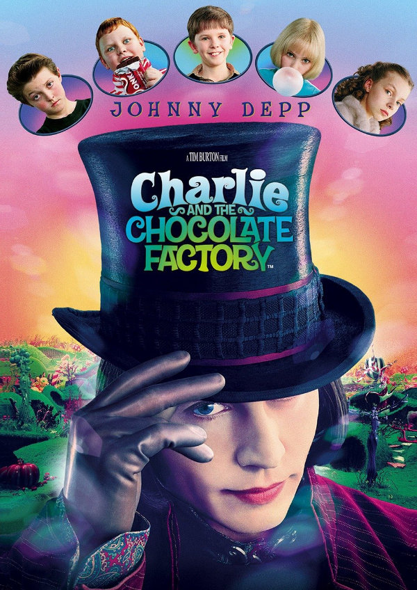 'Charlie And The Chocolate Factory' movie poster