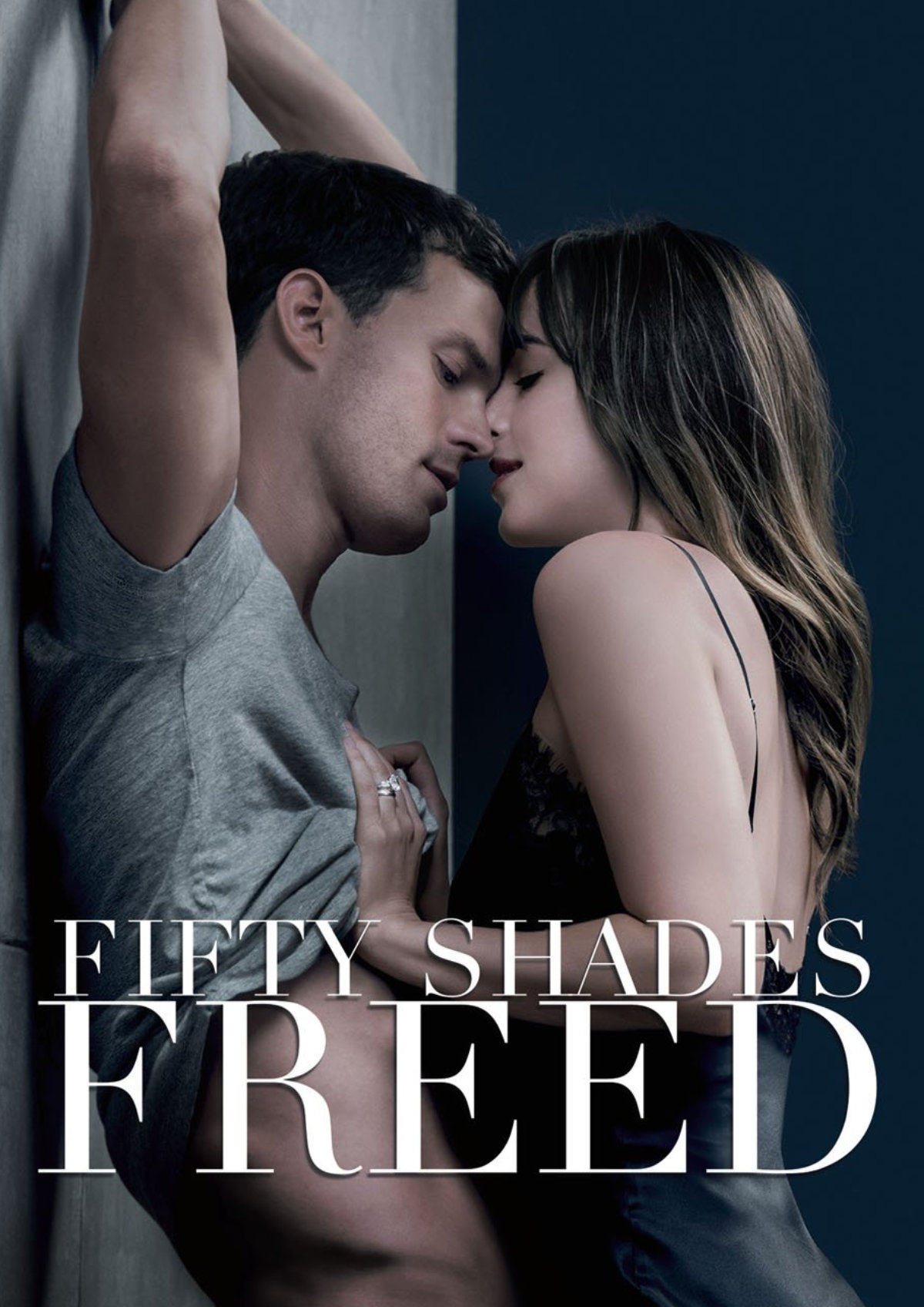 'Fifty Shades Freed' movie poster