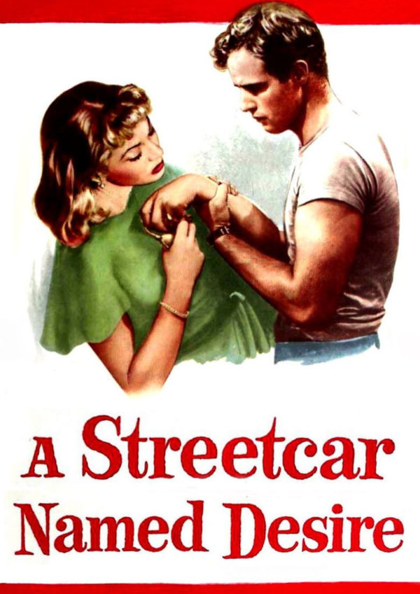 'A Streetcar Named Desire' movie poster