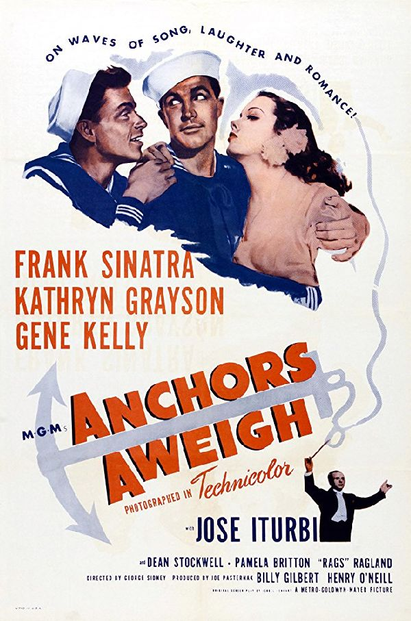 'Anchors Aweigh' movie poster