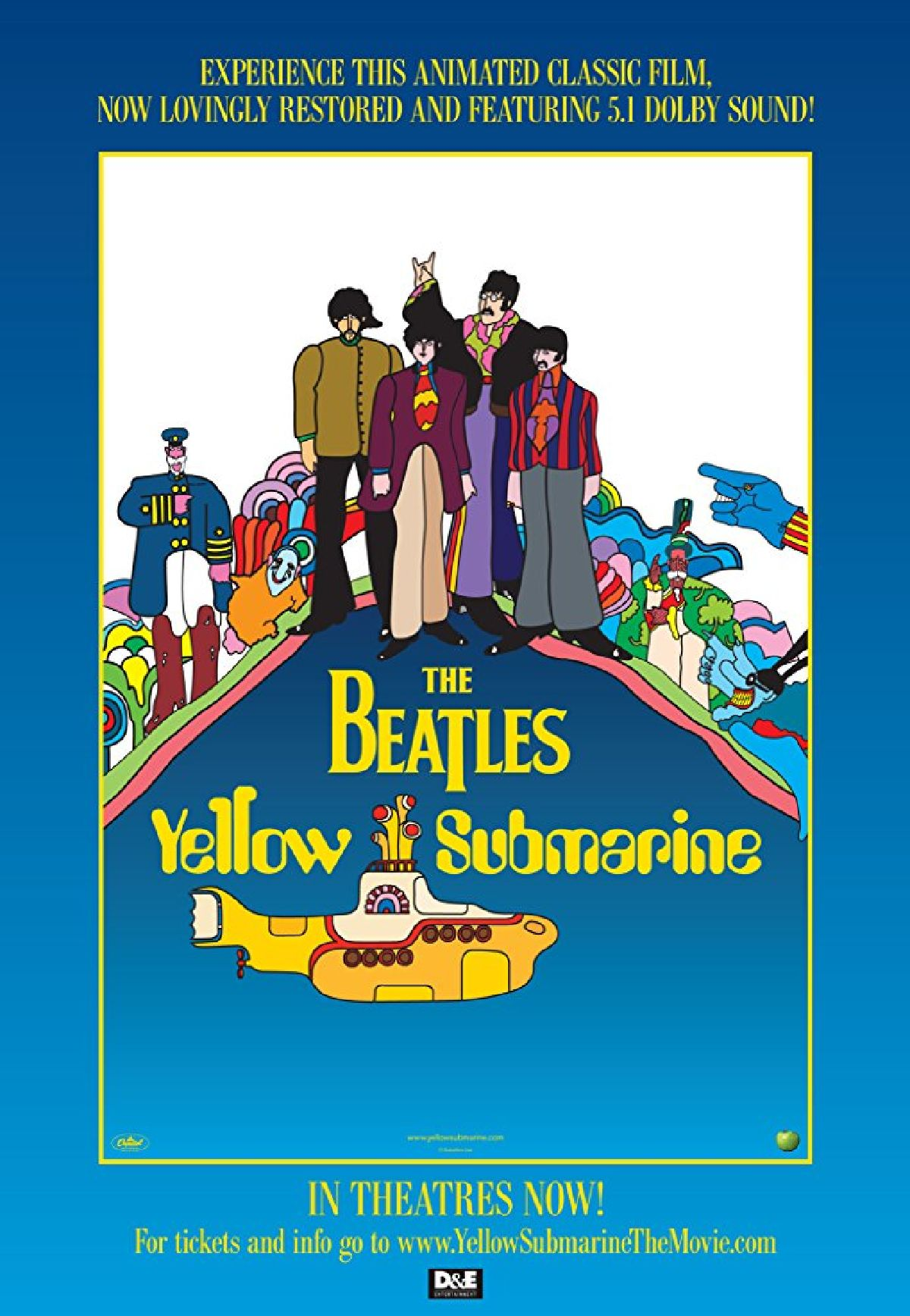 'Yellow Submarine' movie poster