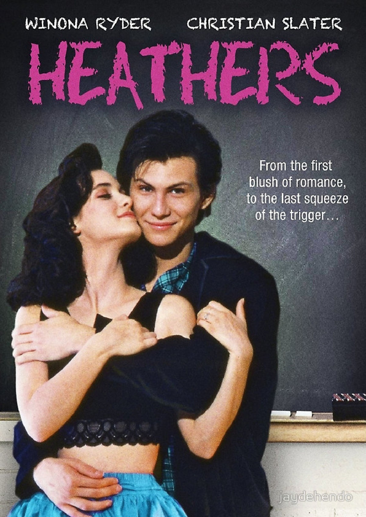 'Heathers' movie poster