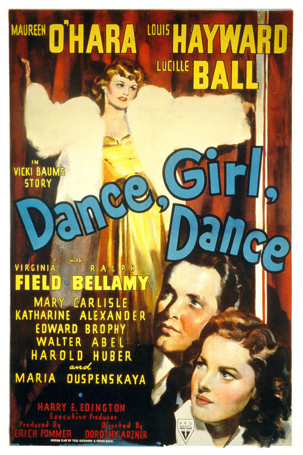 'Dance Girl Dance' movie poster
