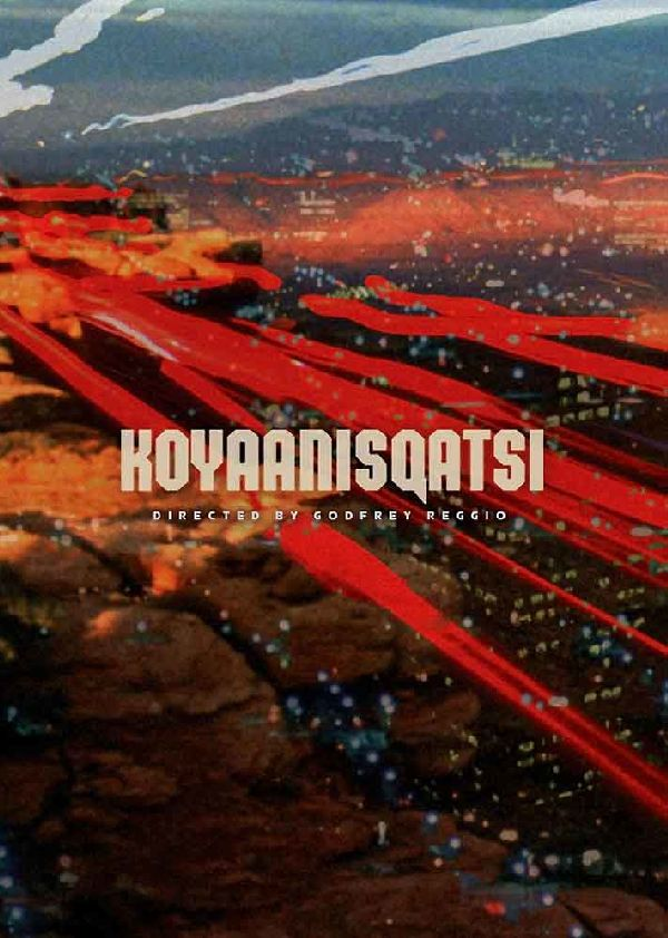 'Koyaanisqatsi' movie poster