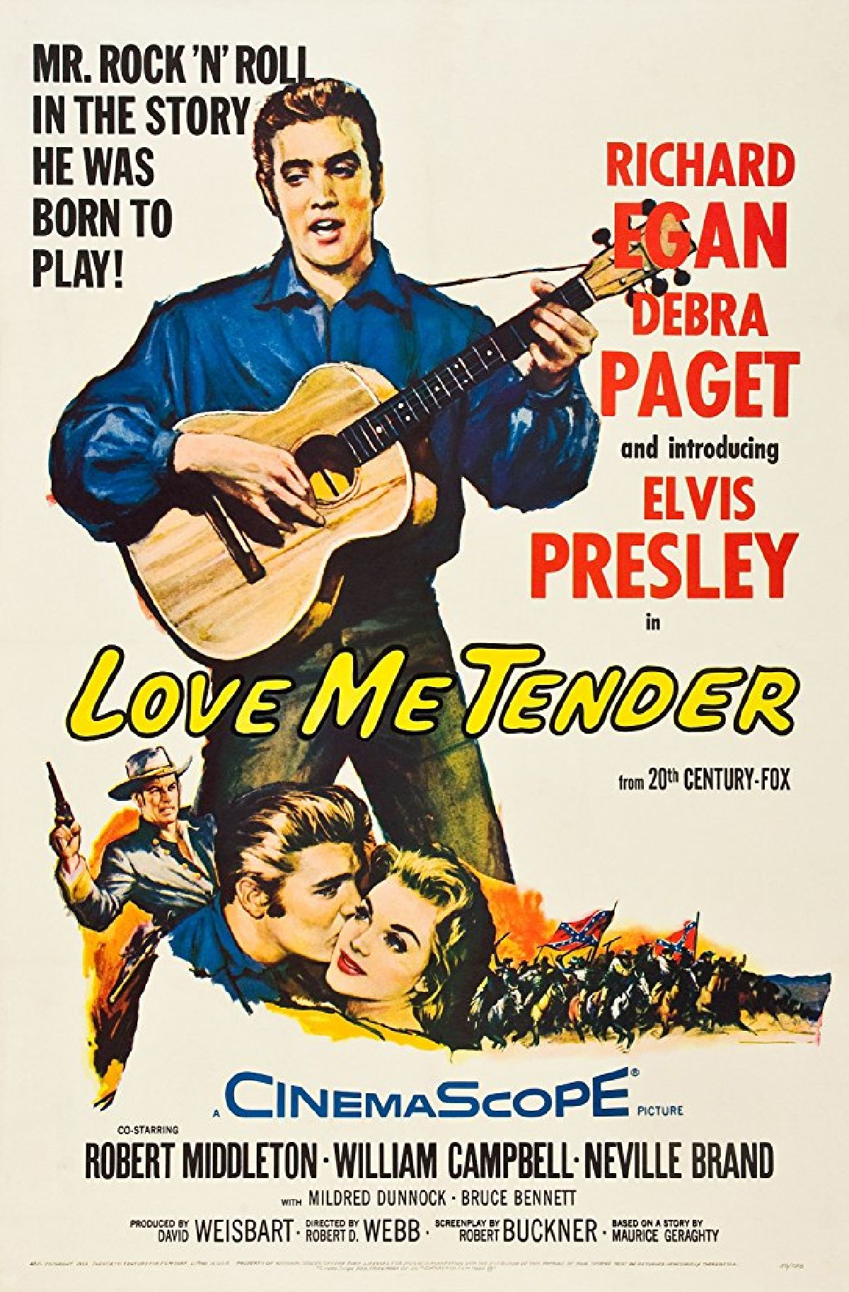 'Love Me Tender' movie poster