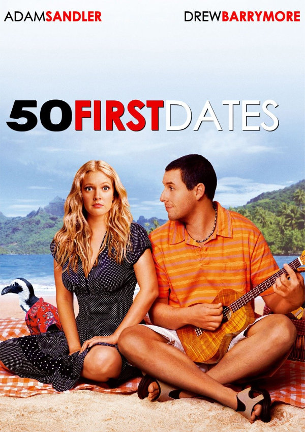 '50 First Dates' movie poster