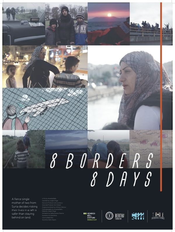 '8 Borders, 8 Days' movie poster