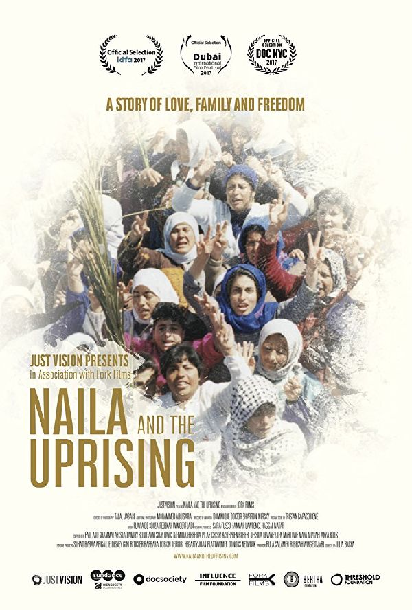 'Naila And The Uprising' movie poster