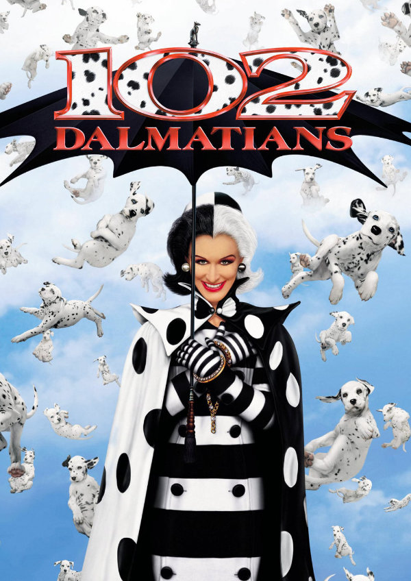 '102 Dalmatians' movie poster