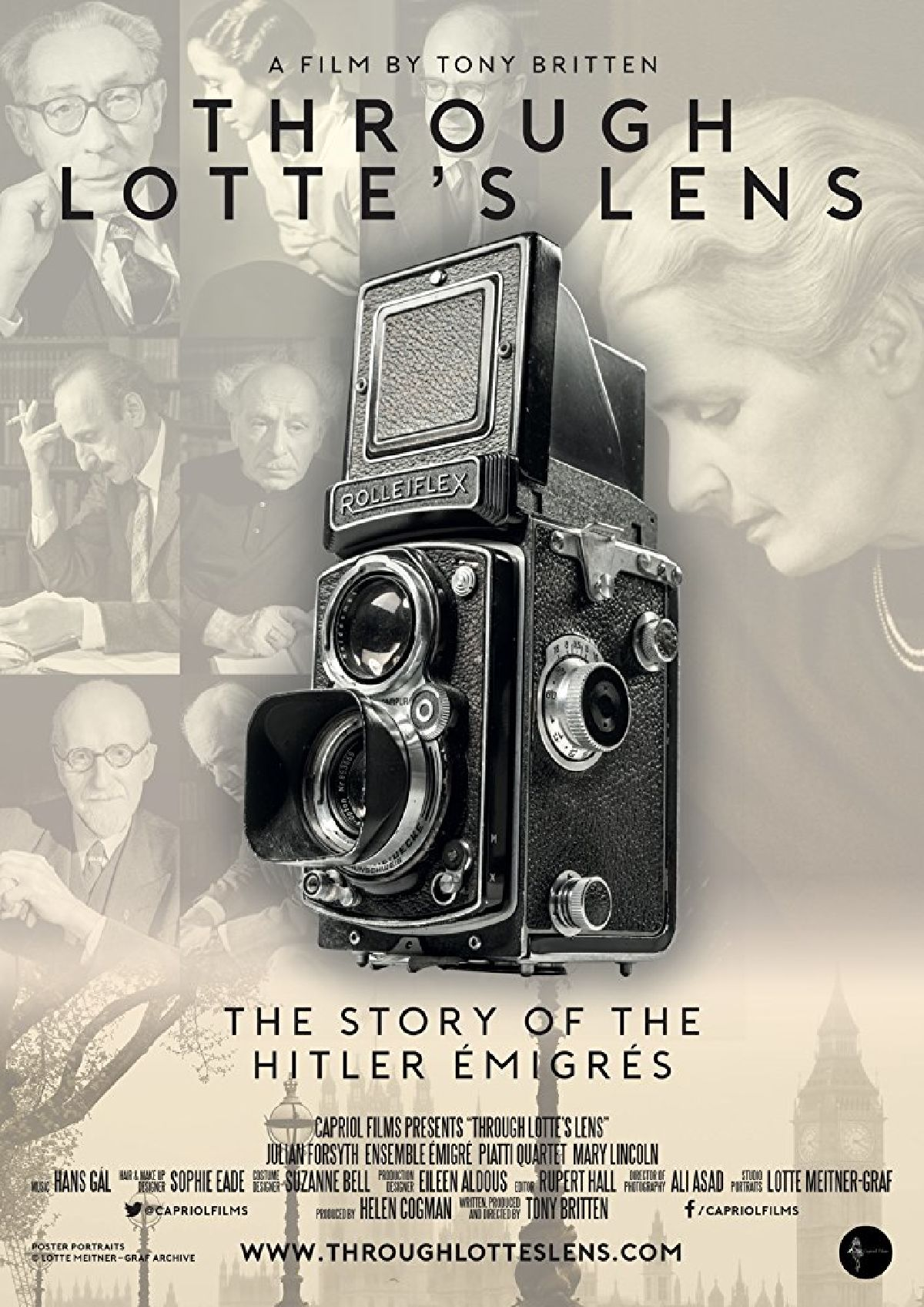 'Through Lotte's Lens' movie poster