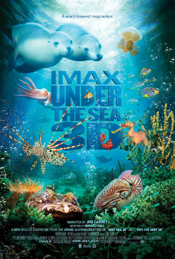 'Under the Sea 3D' movie poster