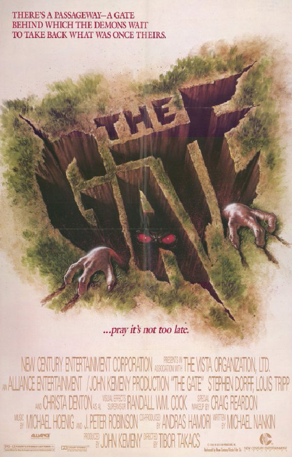 'The Gate' movie poster