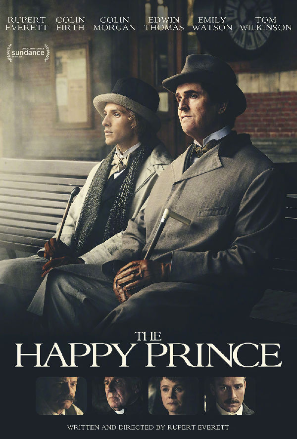 'The Happy Prince' movie poster