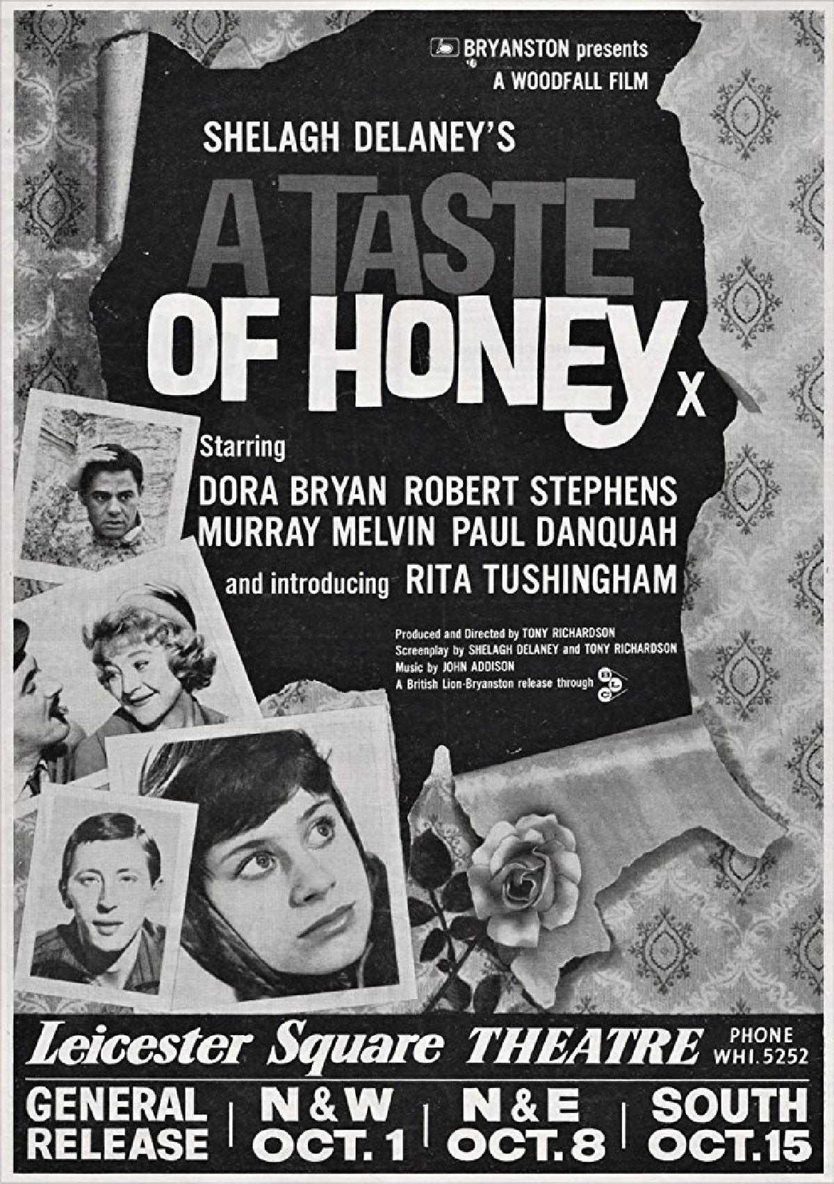 'A Taste Of Honey' movie poster