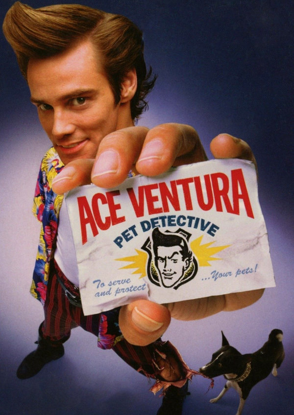 'Ace Ventura: Pet Detective' movie poster