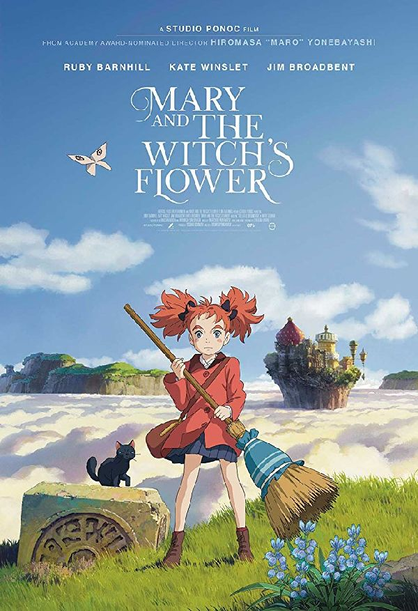 'Mary And The Witch's Flower' movie poster