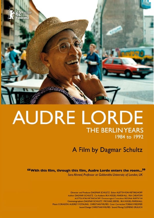 'Audre Lorde: The Berlin Years 1984-1992' movie poster
