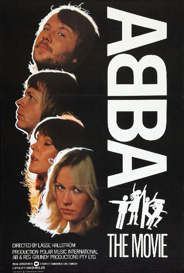 'Abba - The Movie' movie poster