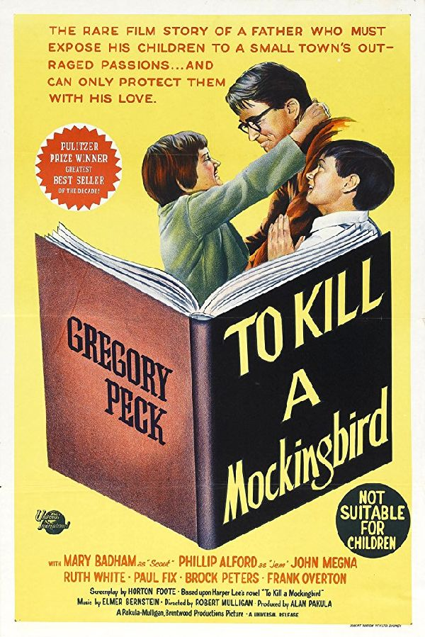 'To Kill A Mockingbird' movie poster
